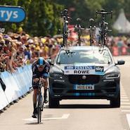 Jaguar F-Pace at Tour de France