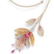 Boucheron's Fleur de Lotus necklace