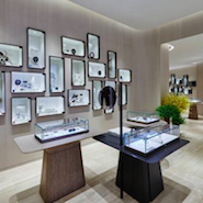 Lane Crawford's flagship location at ifc mall in Hong Kong