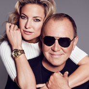 Michael Kors will be working with Kate Hudson for the Watch Hunger Stop campaign
