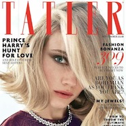 Tatler's September 2015 cover