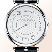 The Pierre Arpels Heure d'ici & Heure d'ailleurs watch.