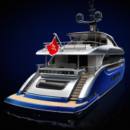 Dynamiq customizable superyacht