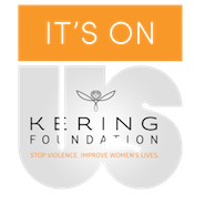 It's On Us Kering logo