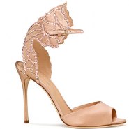 Sergio Rossi's eco-friendly Chysalide shoe