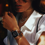 Promotional image for Hermès Apple Watch