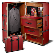 Globe-Trotter's Chivas Regal luggage collection