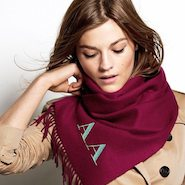 Burberry Scarf Styling tutorial image