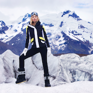 Net-A-Porter ski shop promotional image