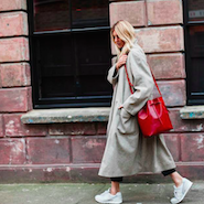 Blogger Camille Charriere for Bergdorf Goodman
