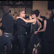 Behind-the-scene still from Chanel's Once and Forever