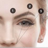 Benefit Brow Genie maps user's eyebrows