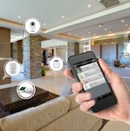 The Internet of Things allows users to control household items through mobile devices