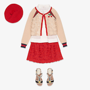 Gucci children's wear is available at Harrods