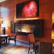 Mandarin Oriental, Boston's lobby