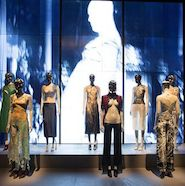 Alexander McQueen: Savage Beauty exhibition in partnership with Swarovski at the Victoria and Albert Museum, London, March 14 to Aug. 2, 2015. Image copyright V&A Museum