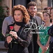 Sophia Loren for Dolce & Gabbana