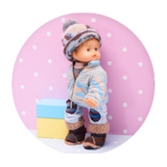 Missoni's Cicciobello doll