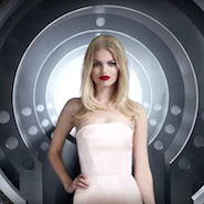 """Video still from Jean Paul Gaultier's """"Welcome to the Factory"""""""