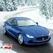 Promotional image for Maserati Aspen driving event