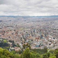 View of Bogota from Mount Monserrate; courtesy Four Seasons