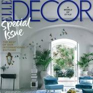 Elle Décor's January/February 2016 cover
