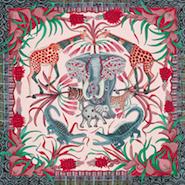 Hermès' La Marche du Zambèze scarf
