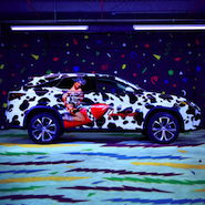 Jeremy Scott branded Lexus RX