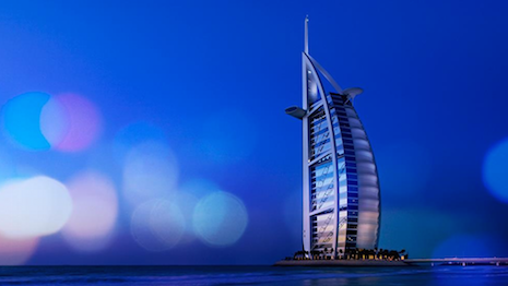 Jumeirah Hotels' flagship property Burj Al Arab in Dubai, UAE