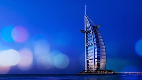 Jumeirah Hotels' flagship property Burj Al Arab in Dubai, UAE