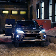 Lexus' LX570 has a starring role in its virtual reality experience