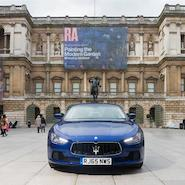 Maserati joins forces with Royal Academy of Arts