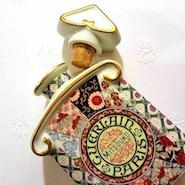 Guerlain x Arita Porcelain Labs Mitsouko bottle