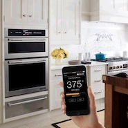 Jenn-Air's connected wall oven and app