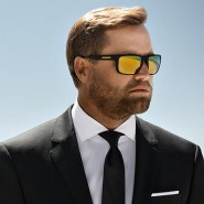 Alex Thomson in Hugo Boss eyewear