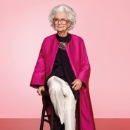 Bo Gilbert, 100, in Vogue's 100th anniversary issue