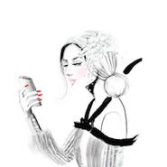 Promotional illustration for Armarium's mobile app