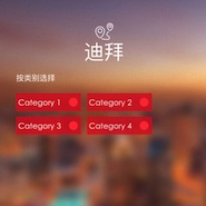 Dubai's Mall of Emirates Chinese language app