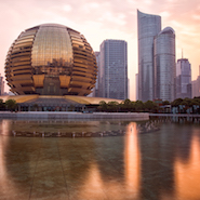 The InterContinental in Hangzhou, China