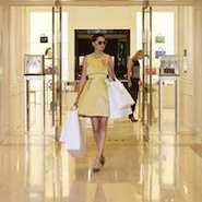Dior store at South Coast Plaza
