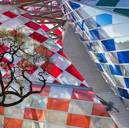 Daniel Buren's Observatory of Light at Fondation Louis Vuitton