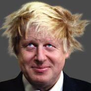 "Harvey Nichols' ""Great Men"" campaign featuring Boris Johnson"
