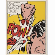 "Roy Lichtenstein, ""Sweet Dreams, Baby,"" sold through Auctionata"
