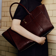 Mulberry Bayswater bag designed by Johnny Coca
