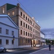 Rendering of Bulgari Hotels Moscow