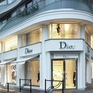 Dior flagship boutique in Cannes, France