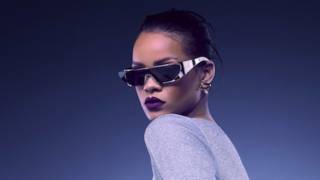 Rihanna has designed sunglasses for Dior