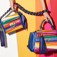 Handbags from the Sara Battagalia for Salvatore Ferragamo capsule