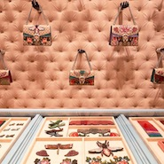 Gucci's DIY service at its Milan flagship