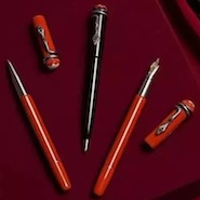 Montblanc's Heritage Collection Rouge et Noir fountain pens